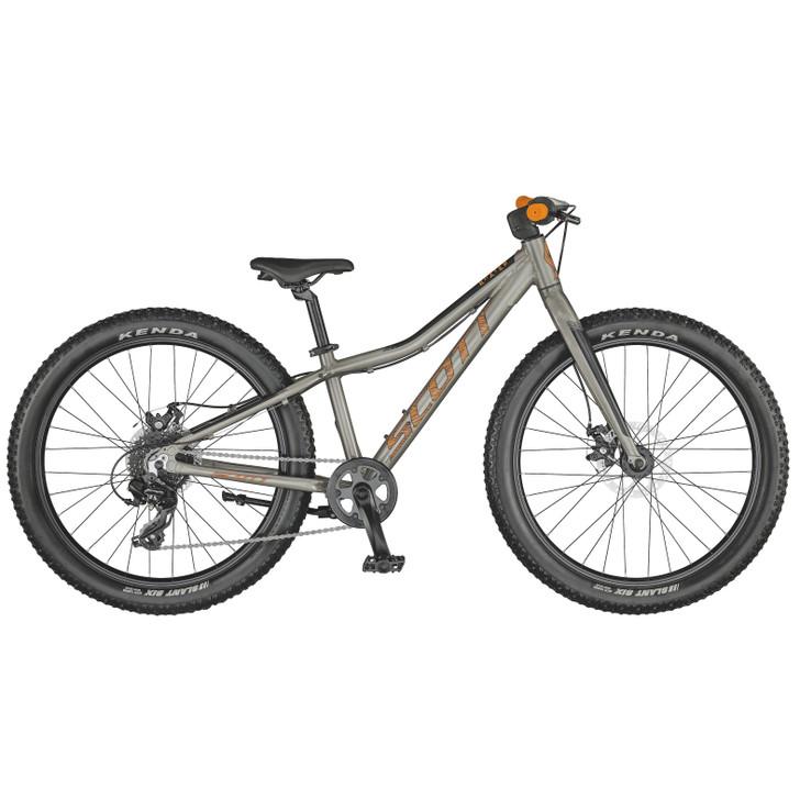 "Scott Roxter 24"" raw alloy Bike (2021) - 7 to 10 Years old"