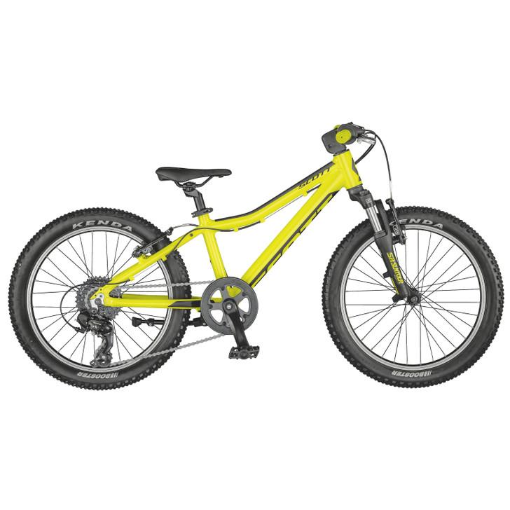 "Scott Scale 20"" Yellow Bike (2021) - 5 to 8 Years old"