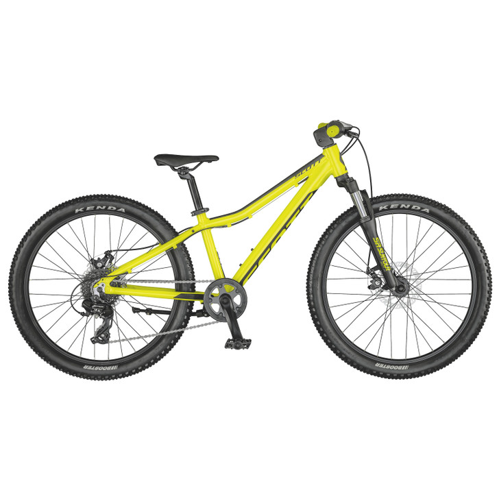 "Scott Scale 24"" Disc Yellow Bike (2021) - 7 to 10 Years old"