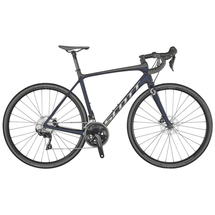Scott Addict 20 Disc Road Bike (2021) -Stellar Blue