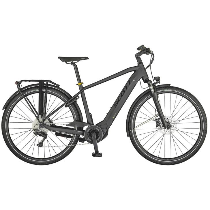 Scott Sub Sport eRide 20 Mens Electric Bike (2021) - Black