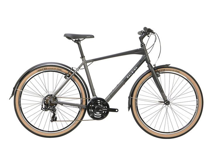 Raleigh Strada Mens Hybrid Bike