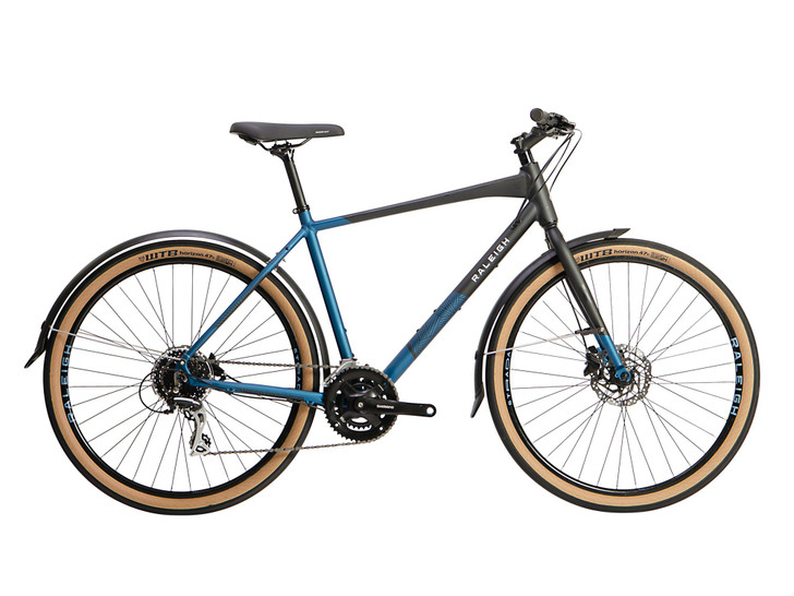 Raleigh Strada City Mens Hybrid Bike