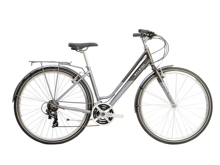 Raleigh Pioneer Ladies Hybrid Bike - Black/Silver