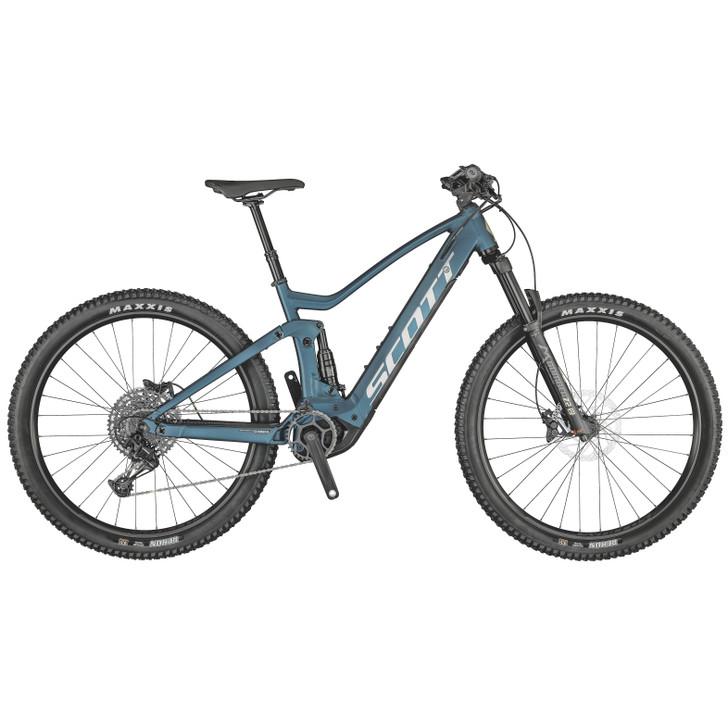 Scott Strike eRide 930 Blue Electric Mountain bike