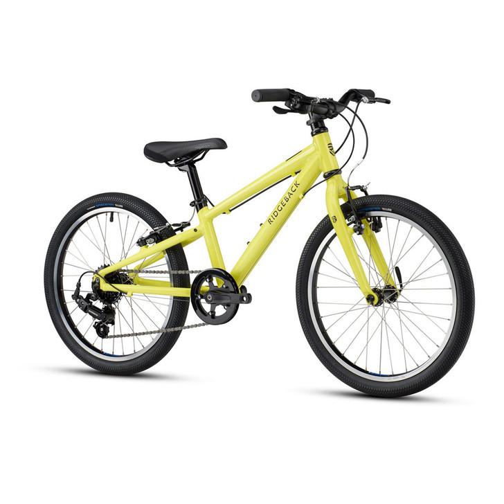 "Ridgeback Dimension 20"" Kids Bike - Lime"