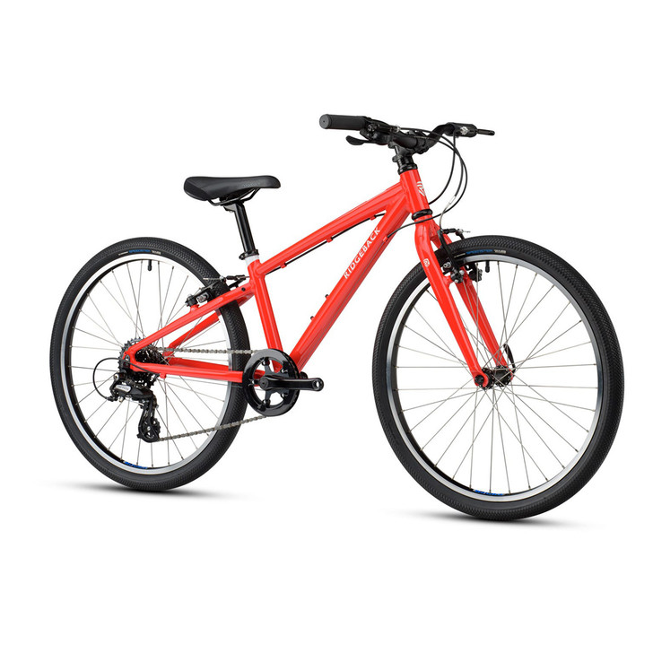 "Ridgeback Dimension 24"" Kids Bike - Red - 7 to 10 years old"