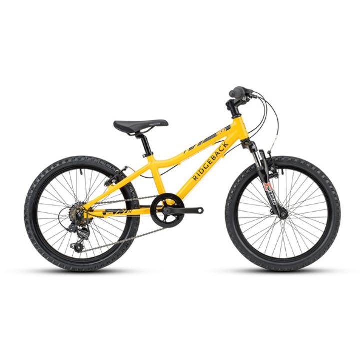 "Ridgeback Mx20 20"" Boys Bike - Yellow"