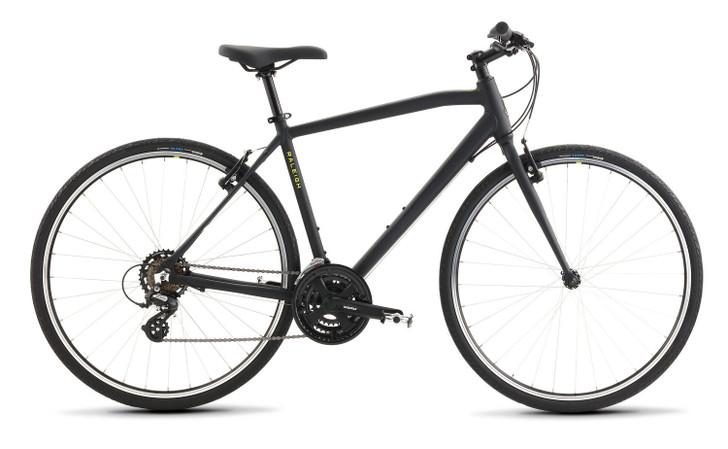 Raleigh Cadent 1 Hybrid Bike Black