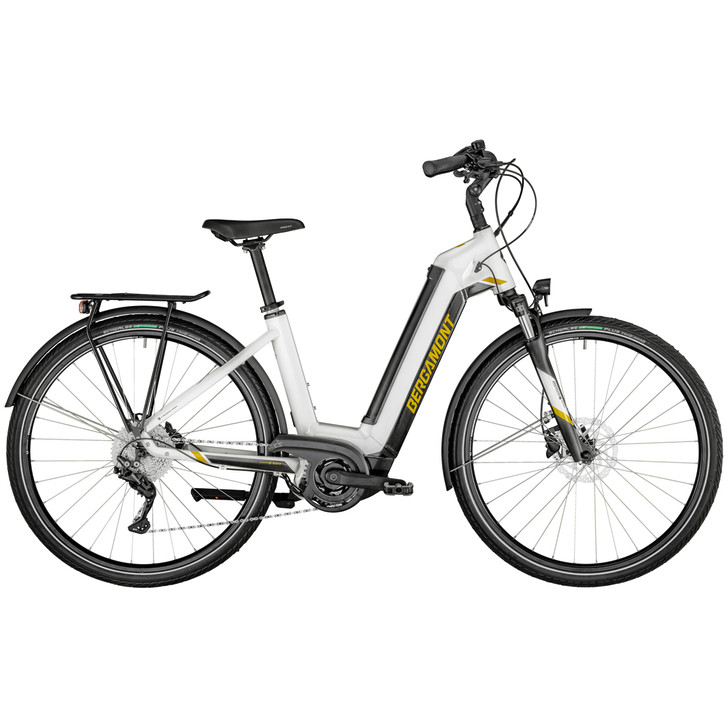 Bergamont E-Horizon Sport Wave Electric Bike (2021) - White