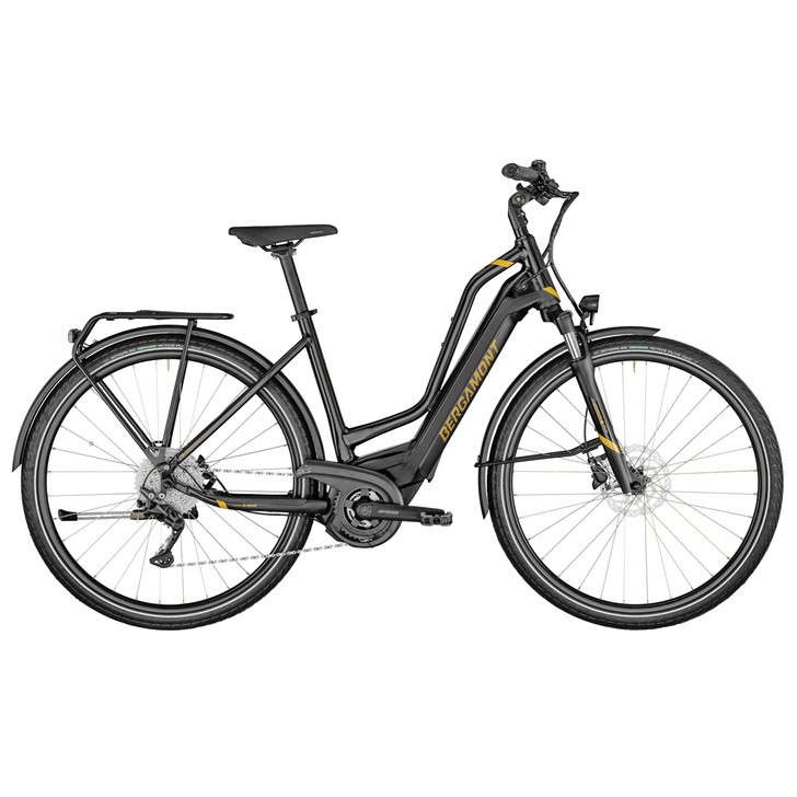 Bergamont E-Horizon Edition Amsterdam Electric Bike (2021) - Black