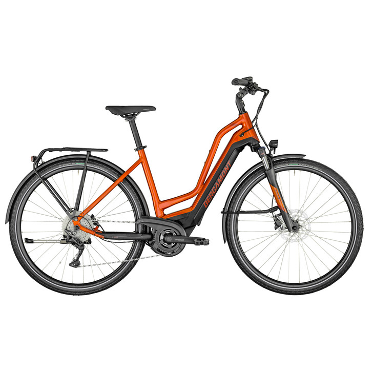 Bergamont E-Horizon Edition Amsterdam Electric Bike (2021) - Orange