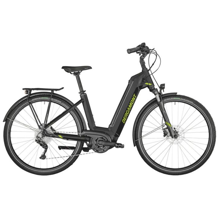 Bergamont E-Horizon N8 CB 500 Wave Electric Bike (2021) - Black