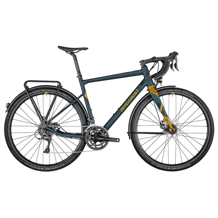 Bergamont Grandurance RD 3 Gravel Bike (2021) - Petrol