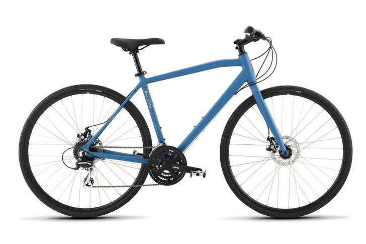 Raleigh Cadent 2 Hybrid Bike Blue