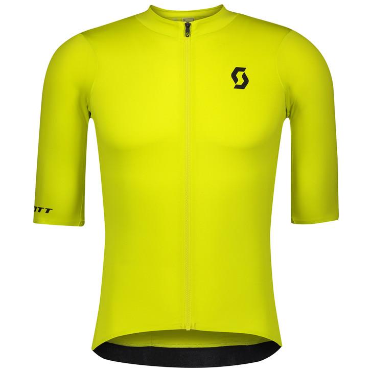 Scott RC Premium Short Sleeve Men's Shirt Sulphur Yellow/Black
