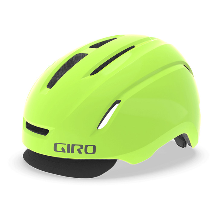 Giro Caden LED Urban Helmet - Highlight Yellow