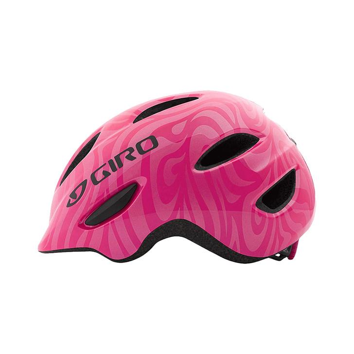 Giro Scamp Youth/Junior Helmet  Matte Bright Pink/Pearl