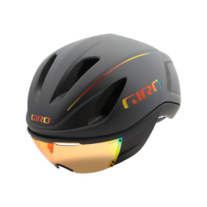 Giro Vanquish MIPS Aero Helmet Matte Grey/Firechrome