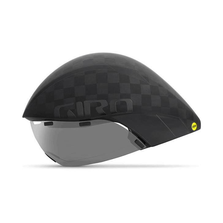 Giro Aerohead Ultimate MIPS Aero/Tri Cycling Helmet Matte Black/Gloss Black