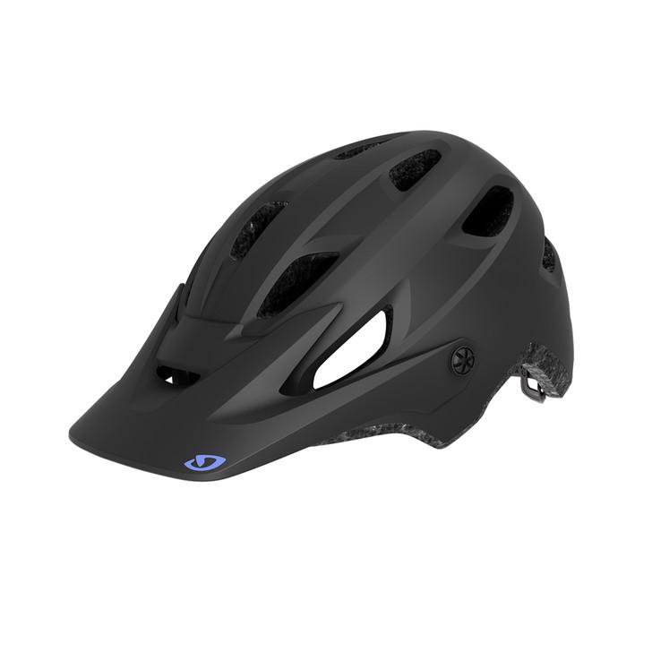 Giro Cartelle MIPS Women's Mountain Biking Helmet Matte Black/Electric Purple