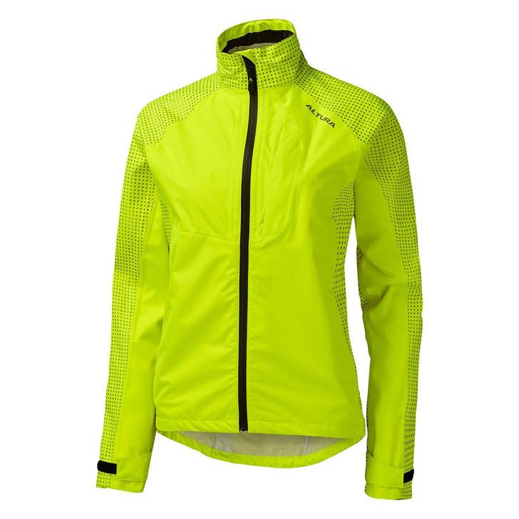 Altura Nightvision Storm Women's Waterproof Jacket Hi-Viz Yellow