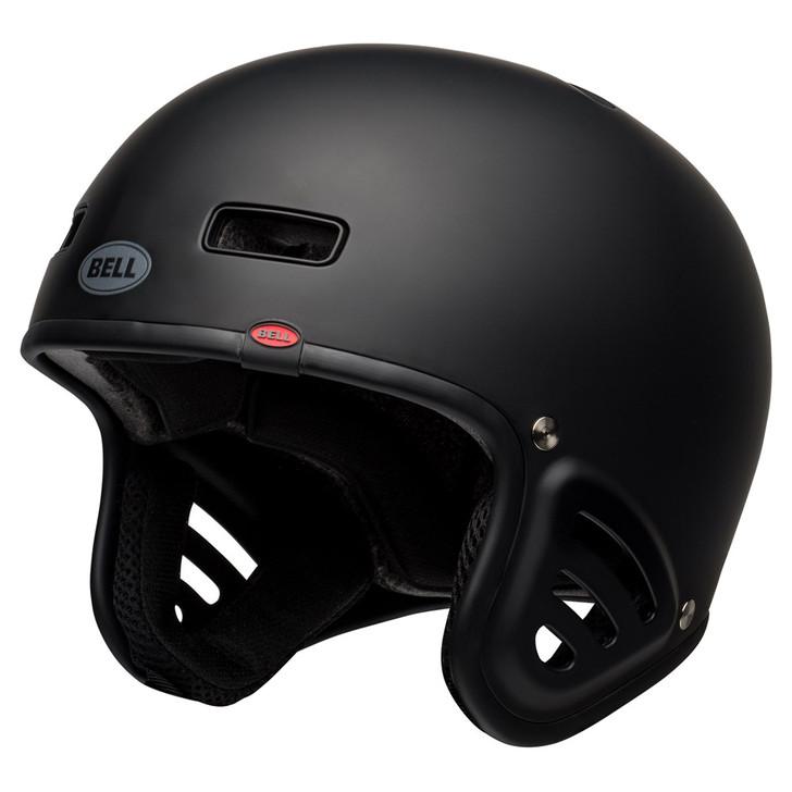 Bell Racket Dirt/Skate Helmet Solid Matte Black