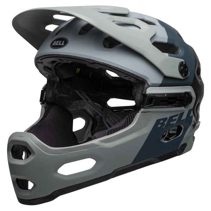 Bell Super 3R MIPS Mountain Bike Helmet Downdraft Matte Grey/Gunmetal