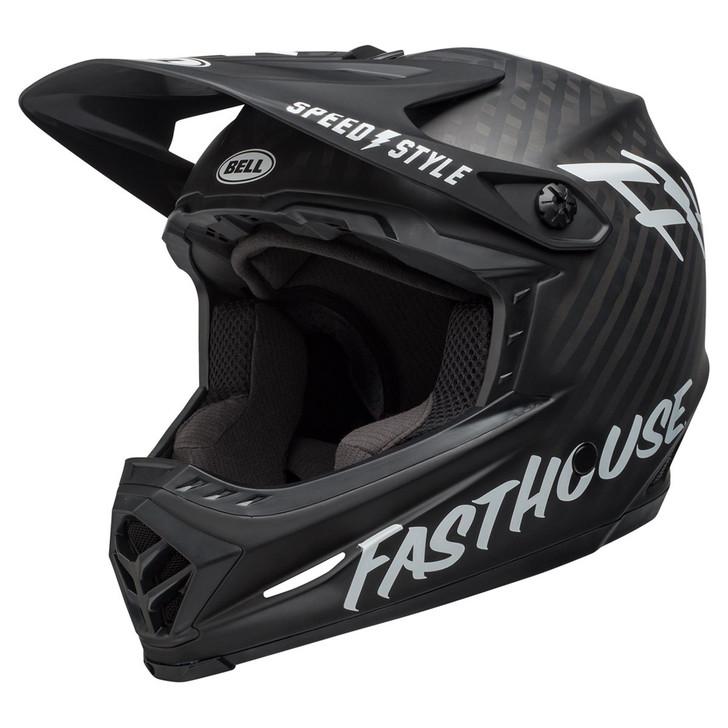 Bell Full-9 Mountain Bike Full Face Helmet Matte Black/White