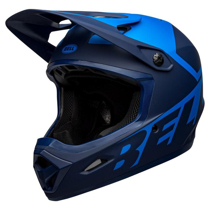 Bell Transfer Mountain Bike Full Face Helmet Matte Blue/Dark Blue