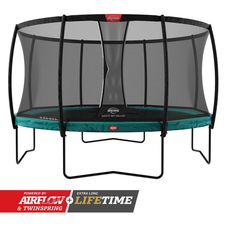 BERG Champion Regular Trampoline 330  + Safety Net Deluxe