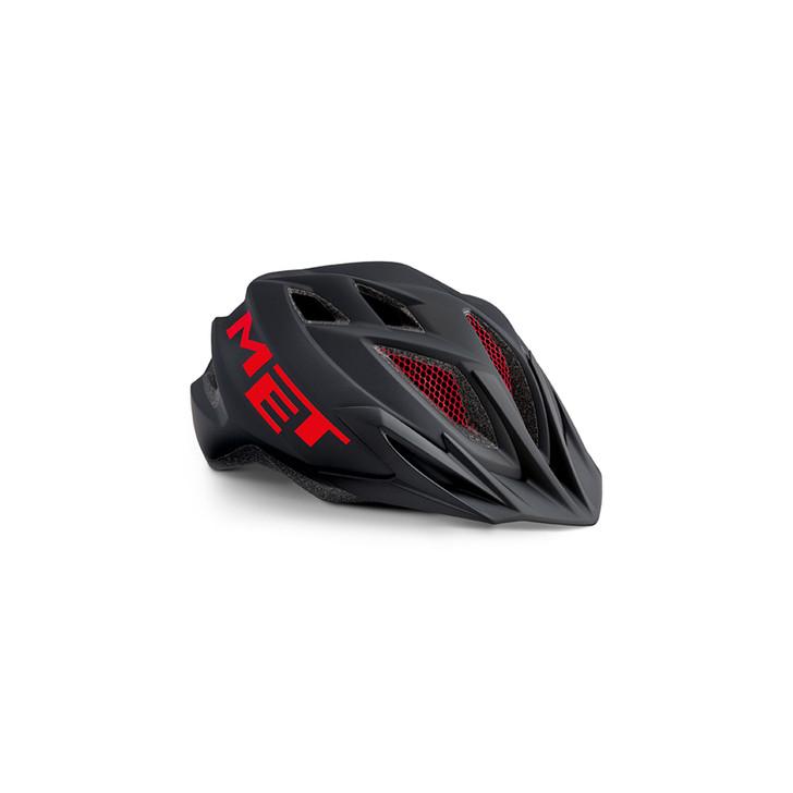MET Crackerjack Junior Helmet Black/Red
