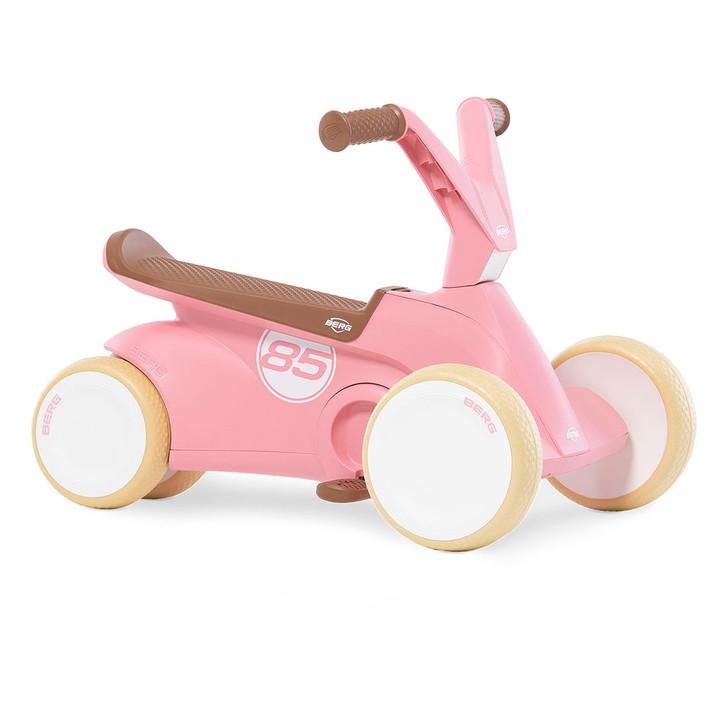 Berg Go2 Retro Toddler Go Kart - Pink- 10 months to 30 months