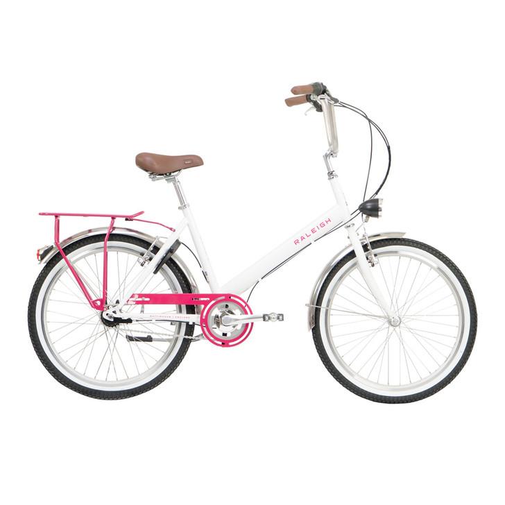 """Raleigh Hoppa City Bike - White 17"""""""