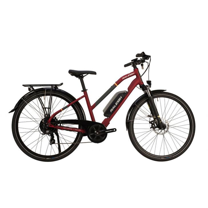 Raleigh Array Open Frame Rear Motor Electric Bike - MediumRaleigh Array Open Frame Rear Motor Electric Bike - Medium