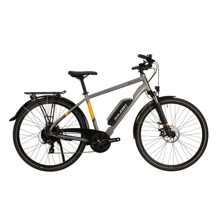 Raleigh Array Crossbar Frame Rear Motor Electric Bike