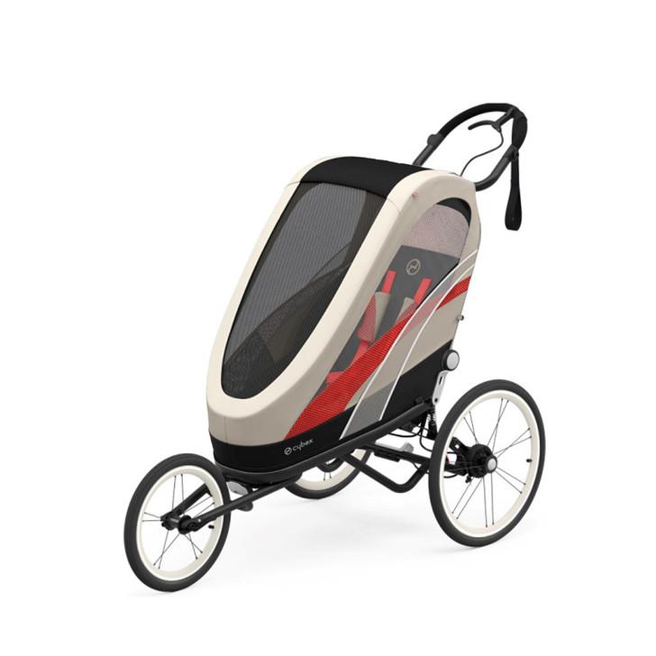 Cybex Sport Zeno - Black Frame- Beached Sand Seat Pack
