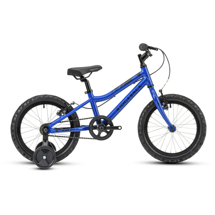 "Ridgeback Mx16 16"" Kids Bike - Dark Blue - 4 to 6 Years old"