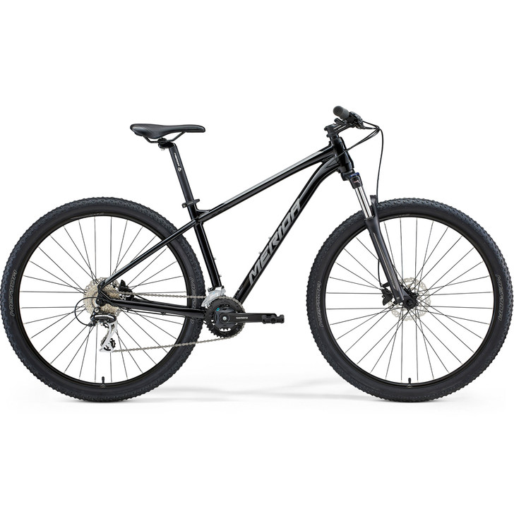 Merida Big Nine 20 Mountain Bike (2021) - Black/Silver (M0)