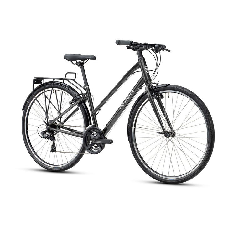 Ridgeback Speed Ladies Hybrid Bike - Black