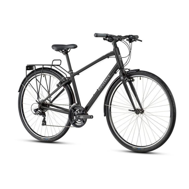 Ridgeback Speed Mens Hybrid Bike - Black