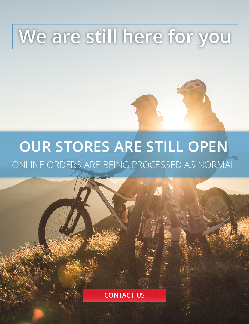 Eurocycles is still open while Covid restrictions are in place.