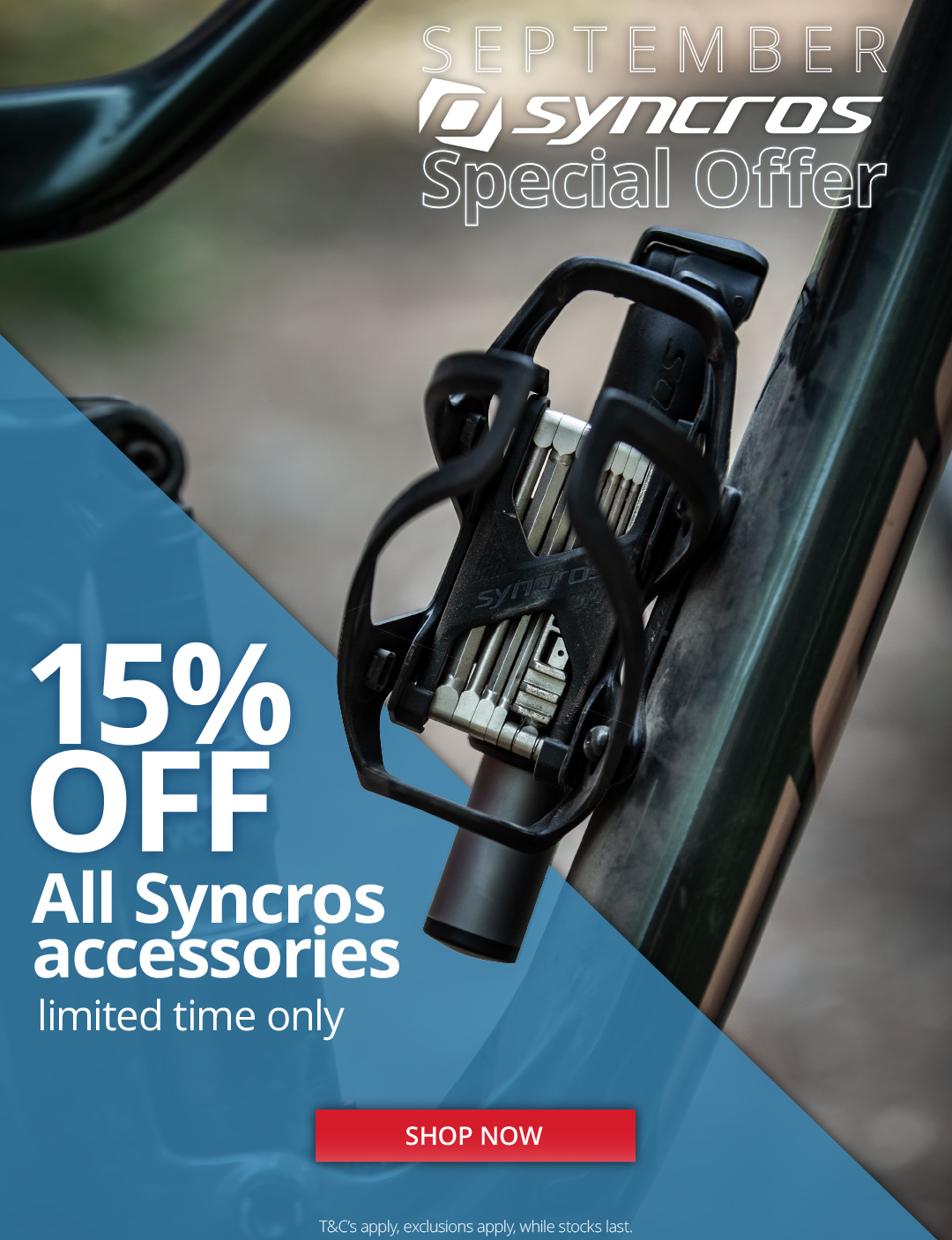 Syncros bike acccessories special offer - Eurocycles.com