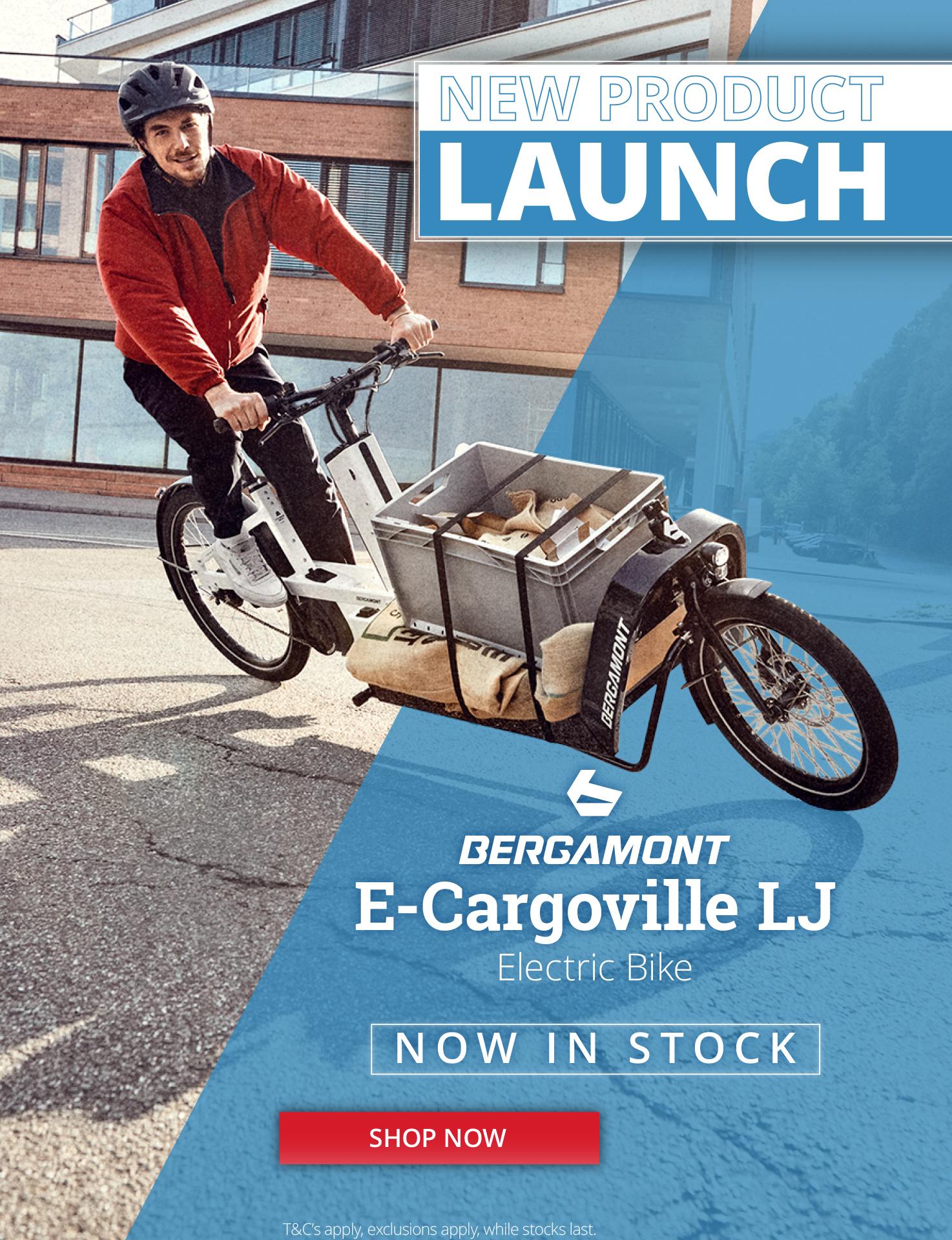 Bergamont E-Cargoville ebike launch