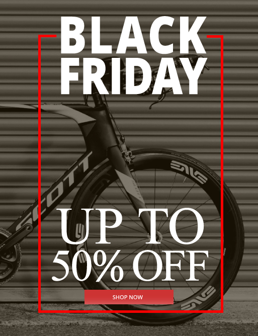 Black Friday at Eurocycles Up to 50% OFF