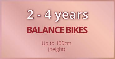 2-4 years old kids bike size