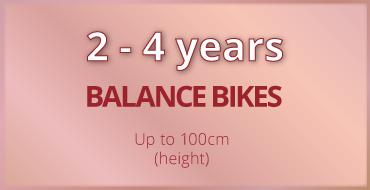 2-4 years old kids bike size