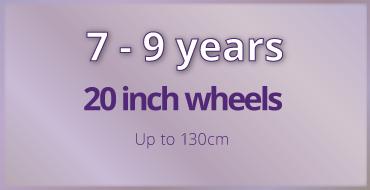 7-9 years old kids bike size