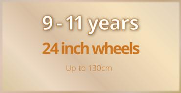 9-11 years old kids bike size