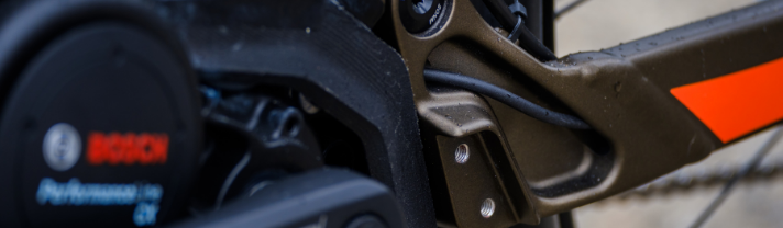 Bosch component on Scott's ebike